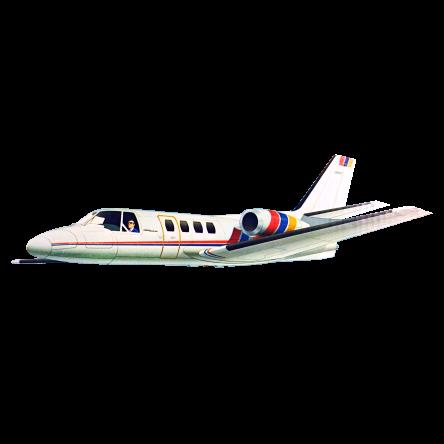 Vintage Royal / Marutaka Cessna 500 Citation RC Airplane Kit